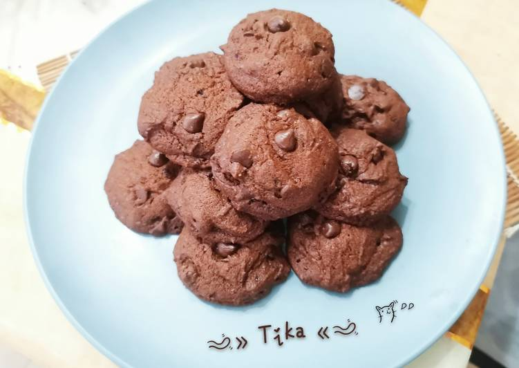 64. Soft Choco Cookies (recook dari Bawell)