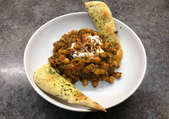 Chickpea and Spinach Curry #newyearnewyou