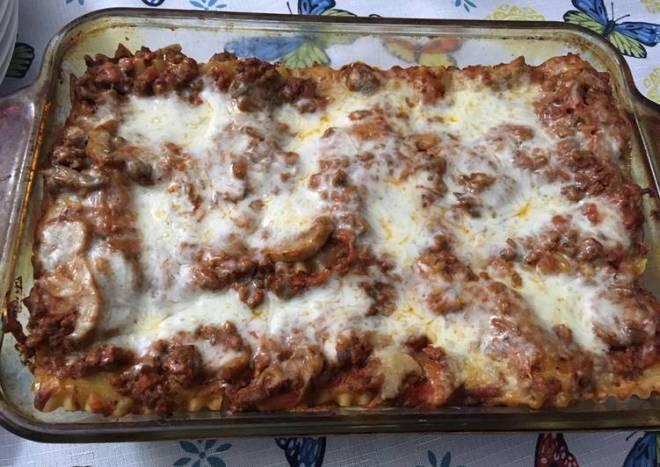Easy Poor mans Lasagna