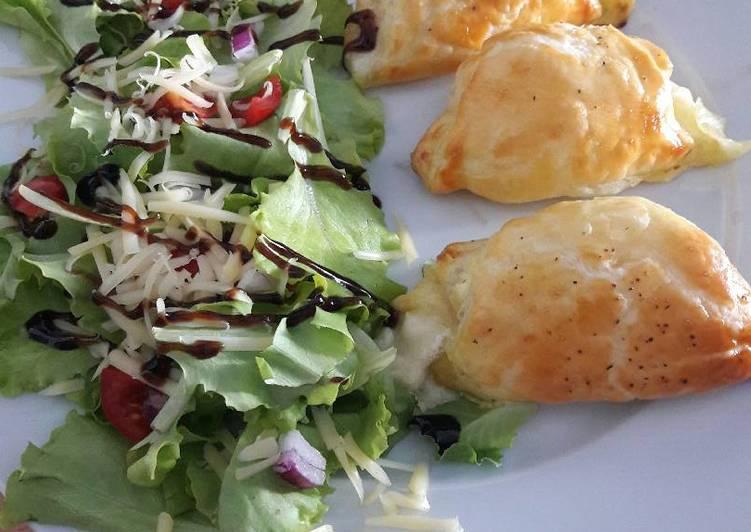 Ham and cheese crossiant