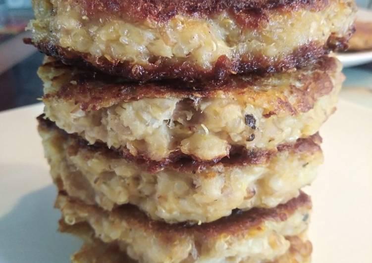 Papitas ou galette de thon et quinoa