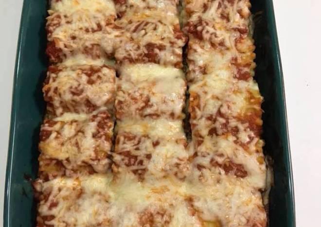 Stuffed Lasagna Rolls