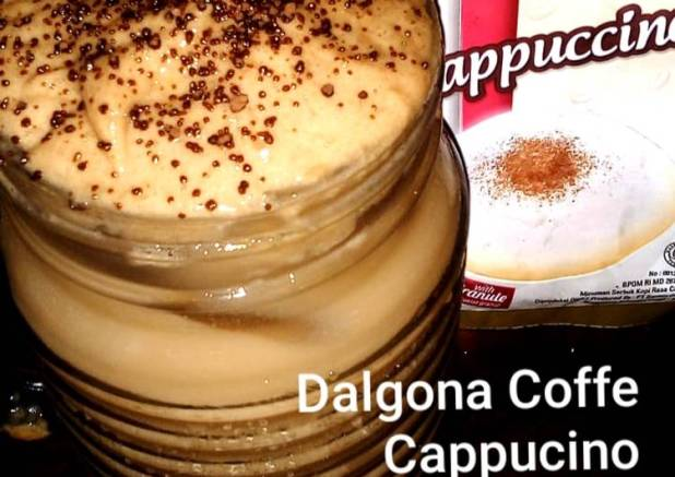 Dalgona Coffe Cappucino
