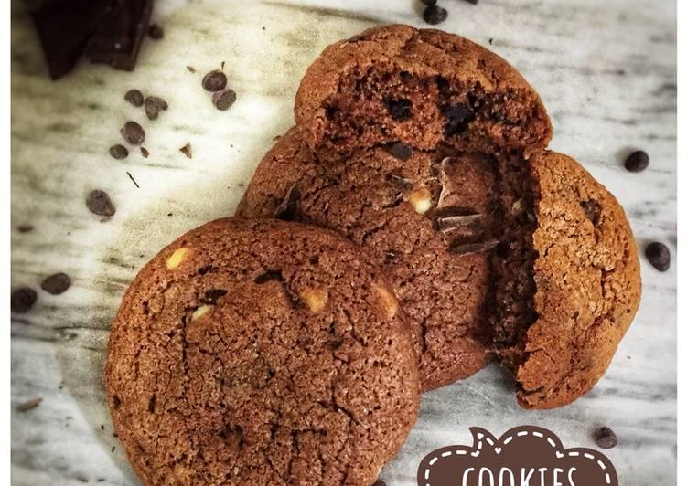 Des cookies 🍪 aux pépites de chocolat 🍫