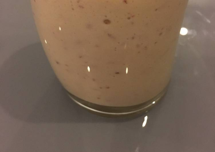 Apple dates milkshake
