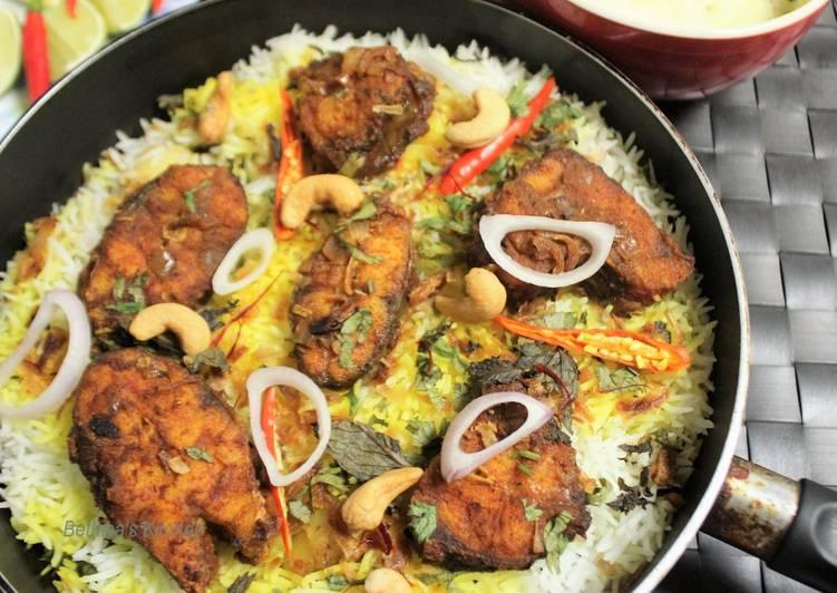 Fish Dum Biryani