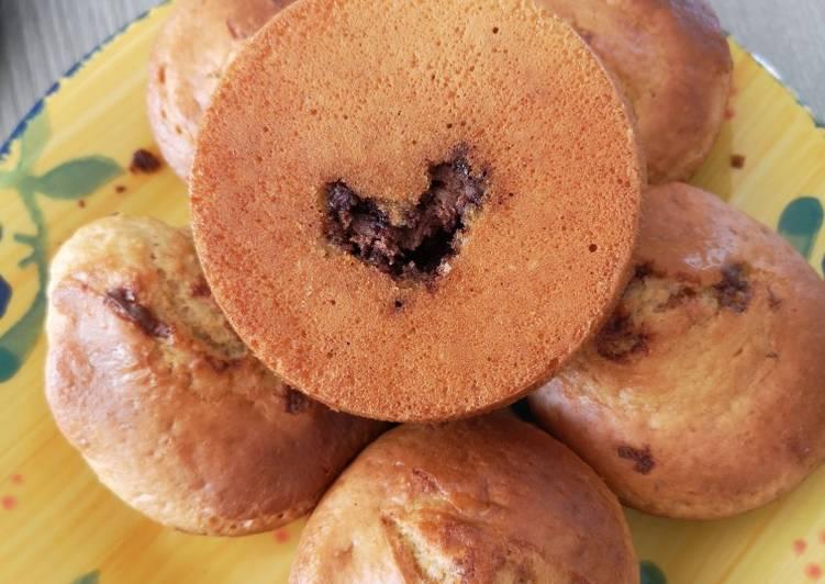 Muffin cœur choco
