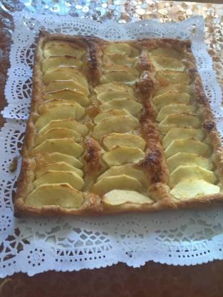 Receta de tarta de manzana súper fácil