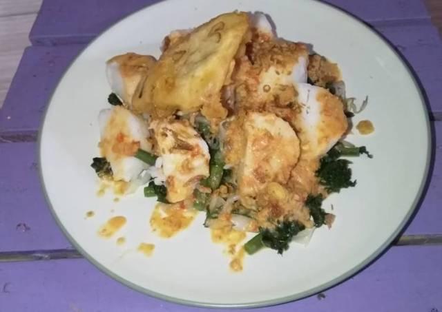 Lotek lontong #pekan_sunda #cookpadcommunity_bekasi