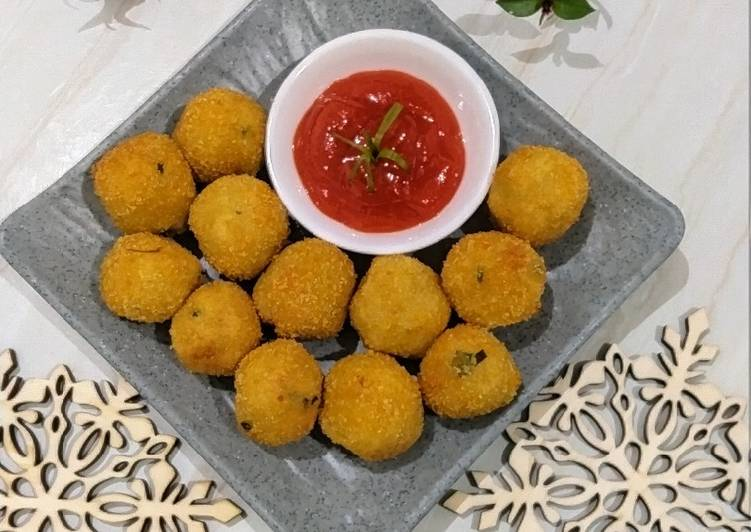 147. Cheese Potato Balls