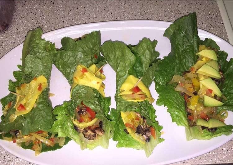 Alkaline Vegan Lettuce Wraps