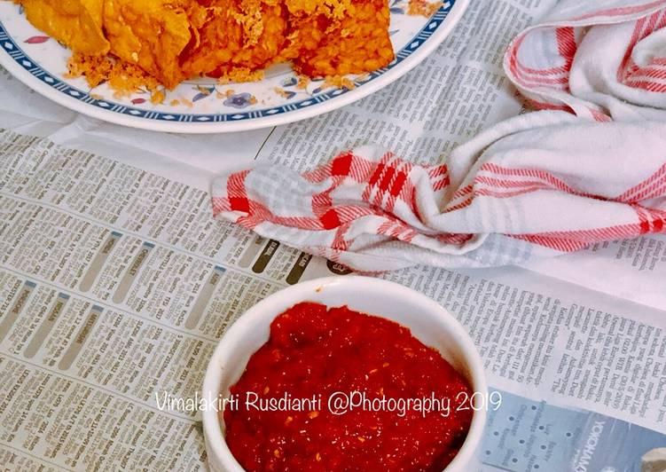 Sambal Ayam Kremes
