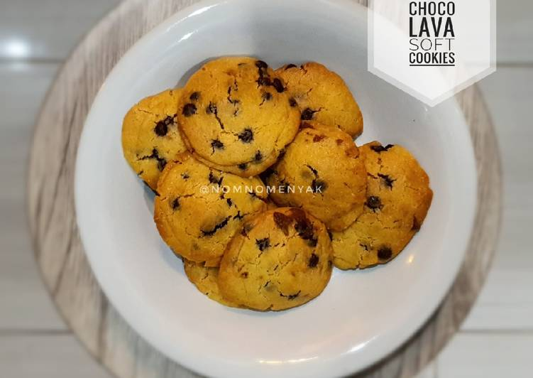 Choco lava soft cookies