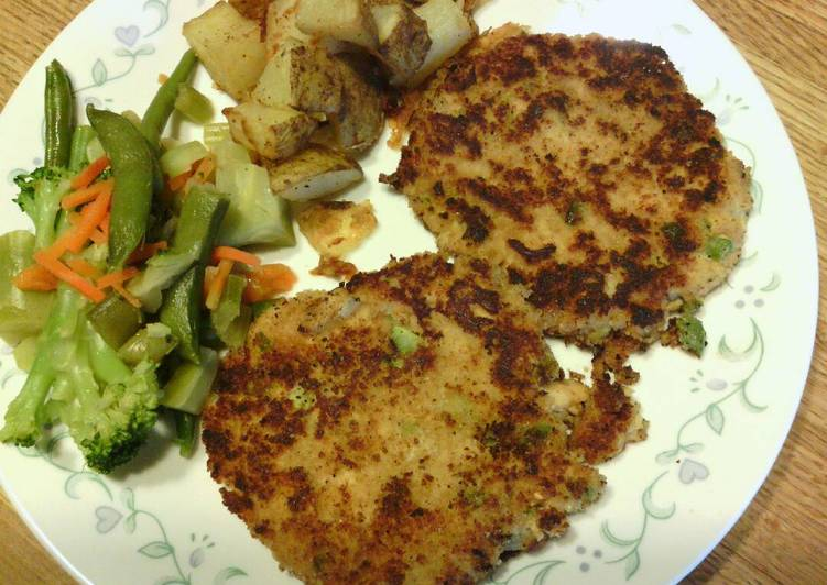 Chicken of the Sea Simple Salmon Cakes