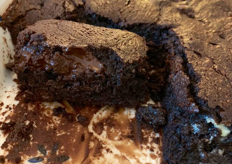 Gooey chocolate fudge brownies