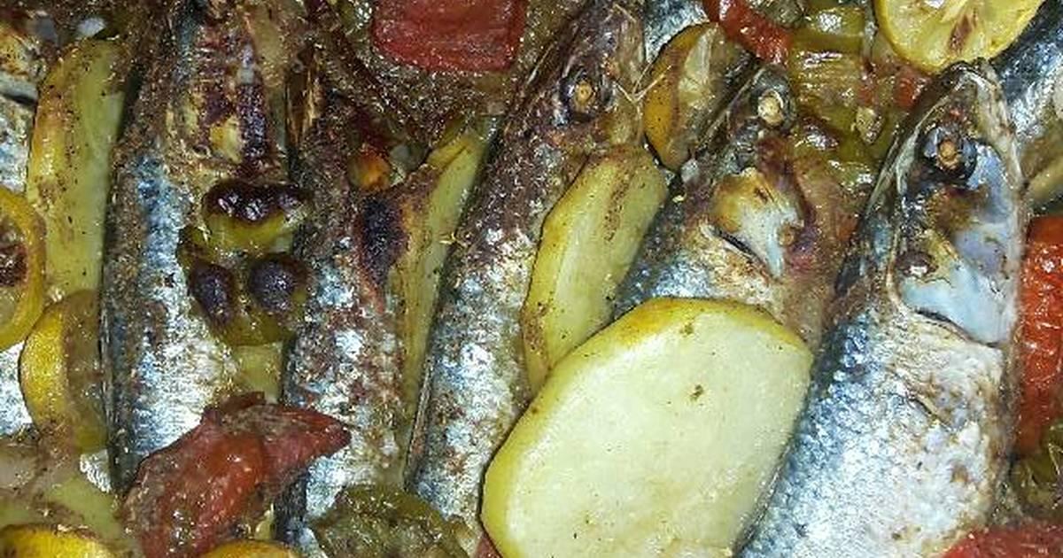 طريقة عمل طريقة عمل صينية سمك بالفرن سهله 44 وصفة طريقة عمل