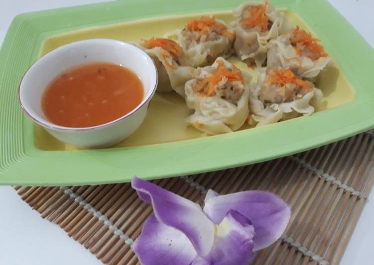 Dimsum + cocolan sambel made in home