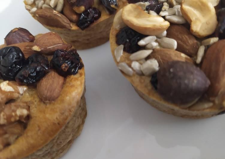 Muffins chocolat aux graines