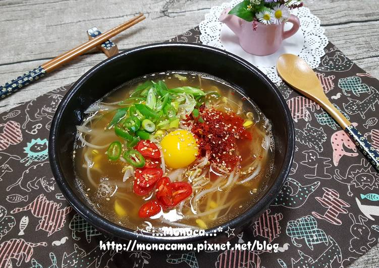 韓式黃豆芽湯飯콩나물국밥食譜 by monaca - Cookpad
