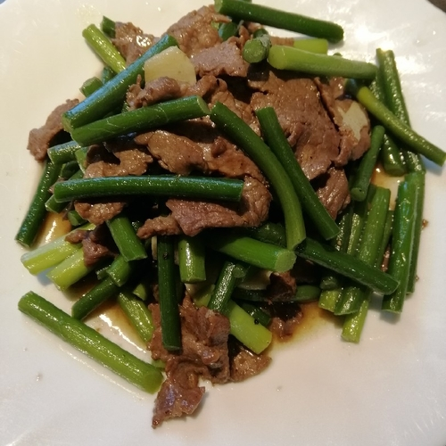 Beef with Chives