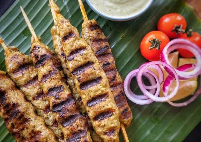 Chicken Sheekh Kebab  #nvrecip #nonveg #chickenrecipe