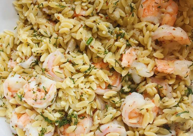 Shrimp & Orzo Salad