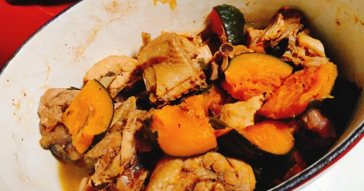 Oceanmommy Chen 發表的 栗子南瓜燒雞 食譜 - Cookpad