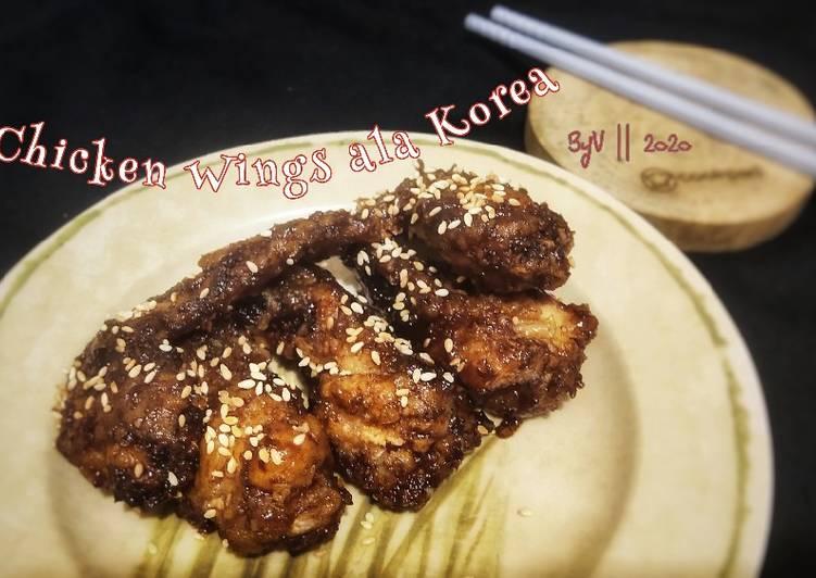 Spicy Chicken Wings ala Korea #Week13