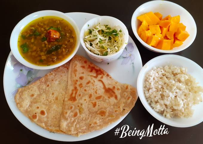 Veg lunch Thali -2
