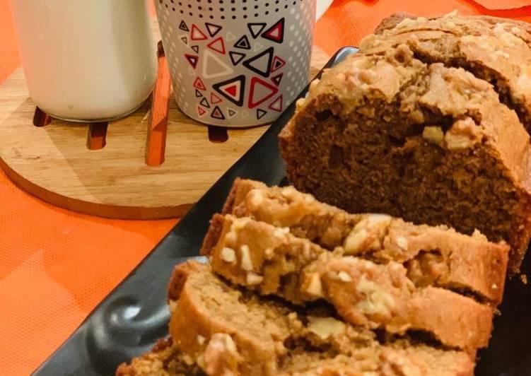 Coffee Cake with walnuts