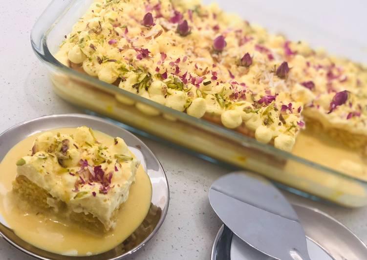 Rasmalai Tres Leches Cake 🍰