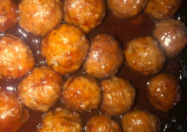 3 ingredient sweet meatballs
