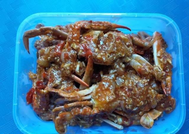 Kepiting / Rajungan Saus Padang
