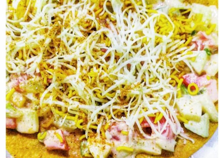 Cheese Khakra Chaat