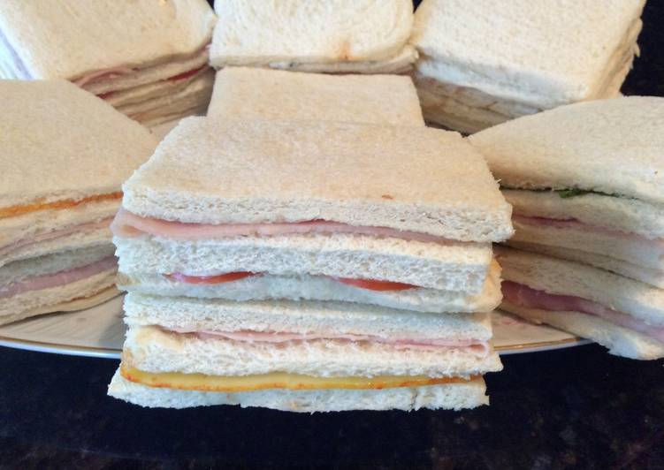 Argentinian Crumb Sandwiches