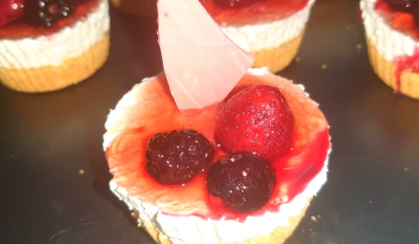 Mini cheese cake(instant)😍