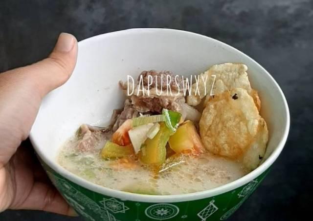 Sup Iga Sapi Non Santan Rumahan Enak, Gurih dan Mudah