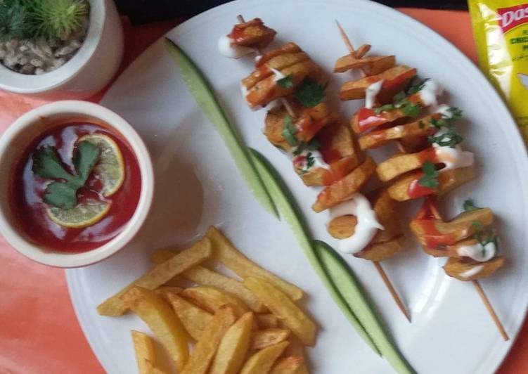 Spiral fries#fastfood competition