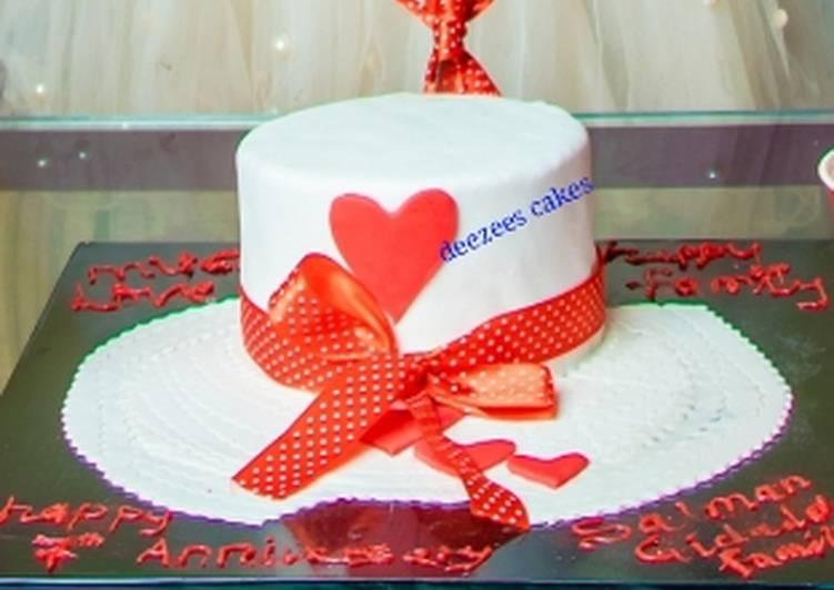 Fondant chocolate cake