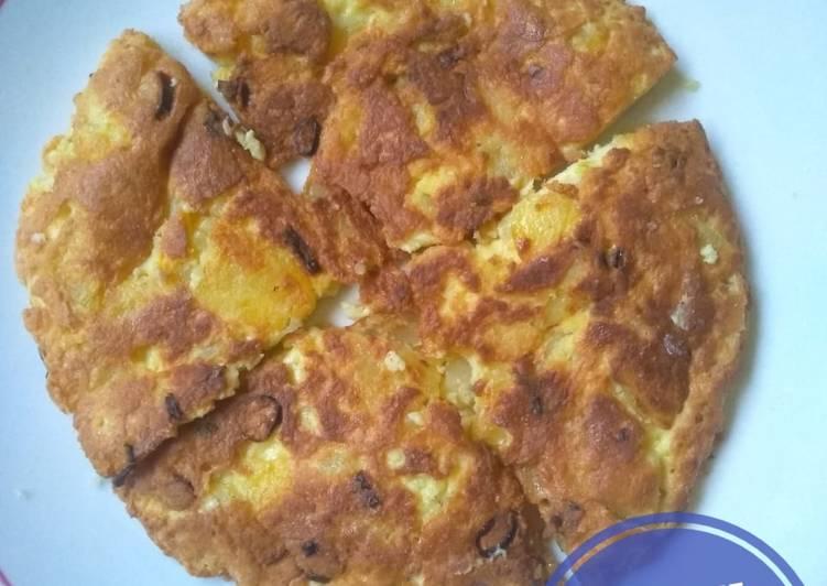 187. Omelette Kentang Keju