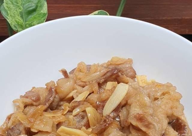 Beef teriyaki (resep simpel)