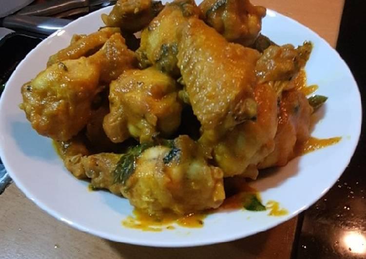 Lemon Basil Chicken (Ayam Rica Rica)
