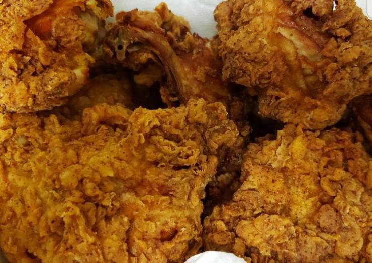 Sharon's Crispy fried chicken