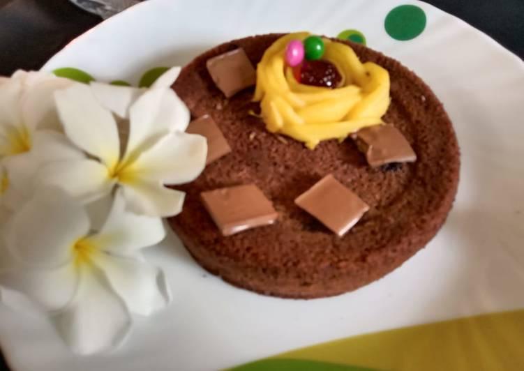 Biscuit mango cake