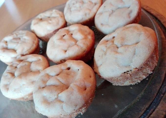 Vegan, banana muffins