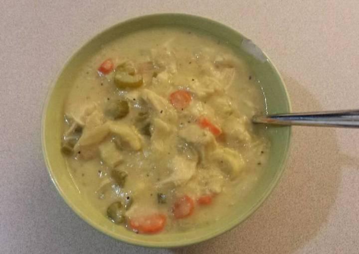 Un-freakin-believable Chicken and Dumpling Soup