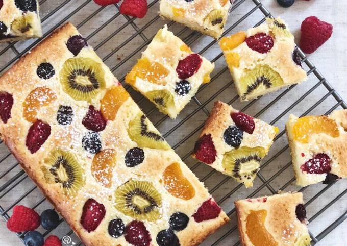 Fruit Pastry Cake
