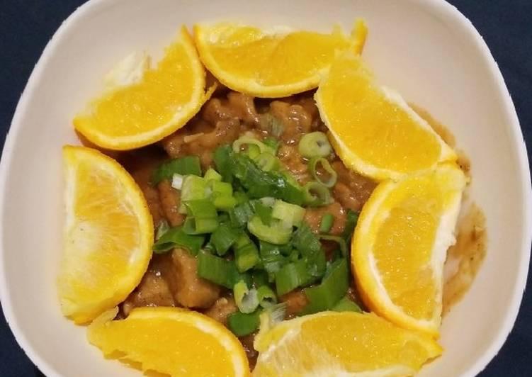 Chinese Style Orange Chicken