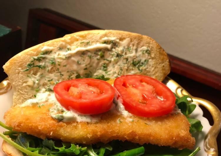 Shaanka Fish Sandwich
