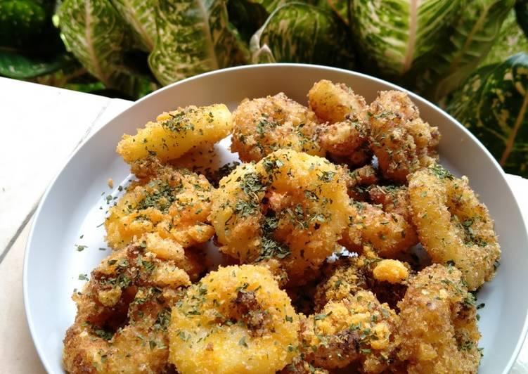 Potato Ring Rasa Keju, Simple !